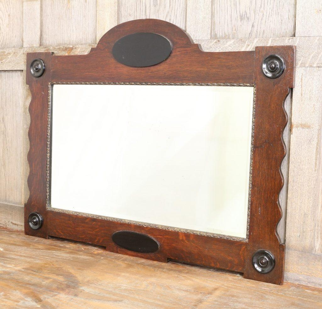 Oak Framed Wall Mirror 58 Enchanting Ideas With Large Framed Throughout Oak Framed Wall Mirror (Image 17 of 20)