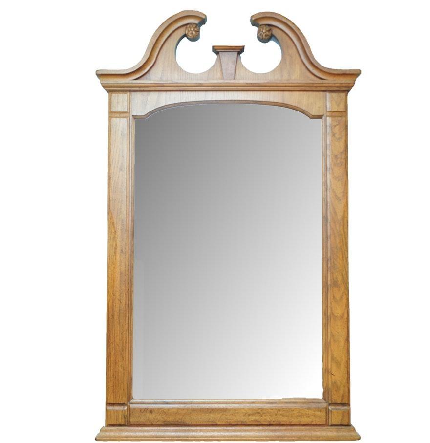 Oak Framed Wall Mirror 70 Beautiful Decoration Also Oak Framed With Regard To Oak Framed Wall Mirror (View 12 of 20)