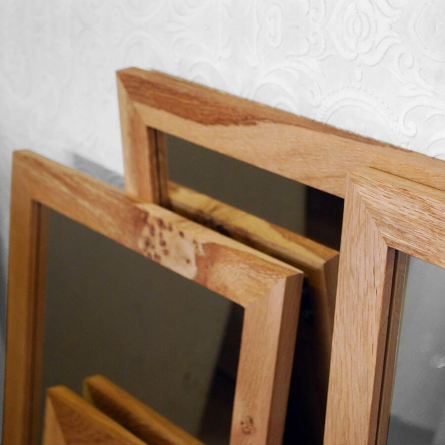 Oak Framed Wall Mirror – Harpsounds (Image 7 of 20)