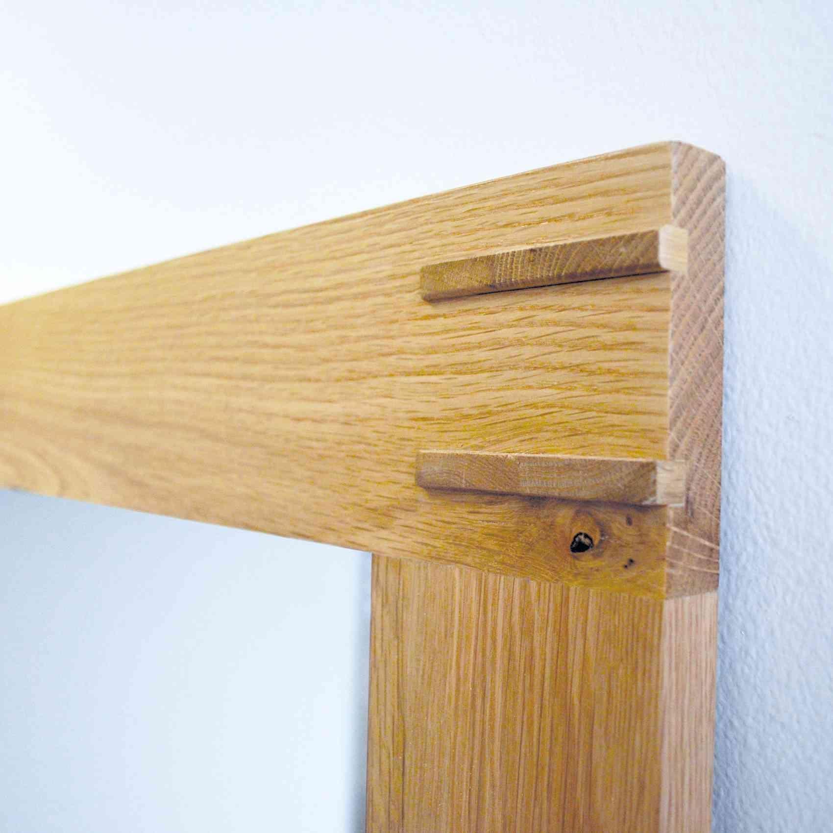 Oak Framed Wall Mirror – Harpsounds (View 5 of 20)