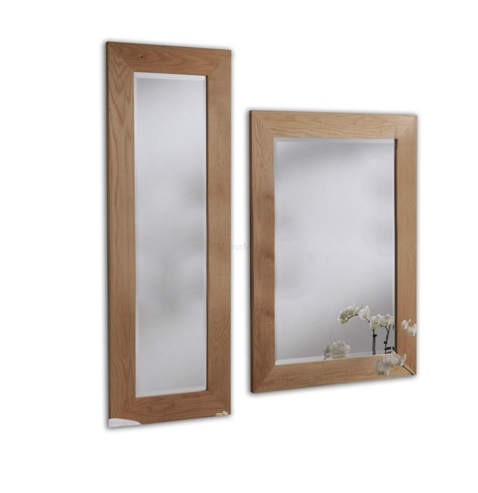 Oak Framed Wall Mirrors | Home Design Ideas Within Oak Framed Wall Mirror (Image 19 of 20)