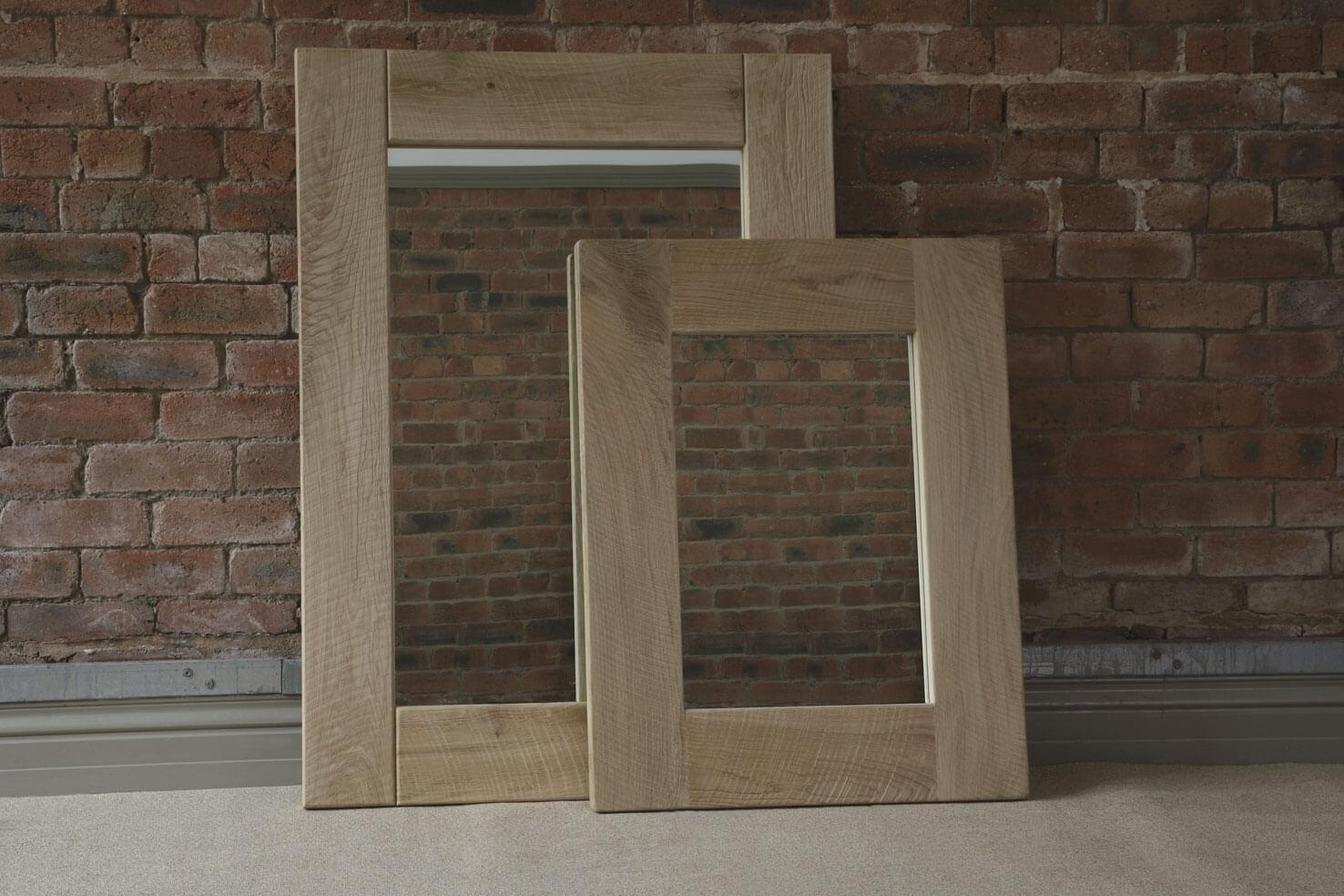 Oak Mirror, Handcraftedindigo Furniture Regarding Large Oak Mirrors (View 13 of 20)