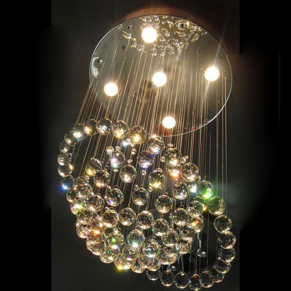Online Buy Wholesale Chandelier Crystal Balls From China Throughout Crystal Ball Chandeliers (Image 19 of 25)