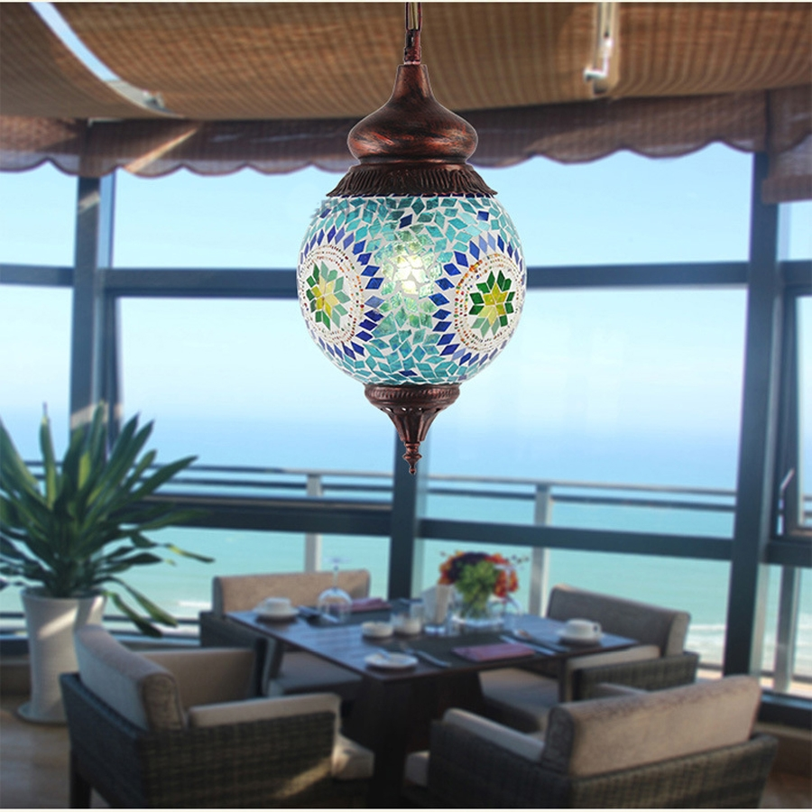 Online Buy Wholesale Sea Glass Chandelier Lighting From China Sea For Turquoise Blue Glass Chandeliers (Image 17 of 25)