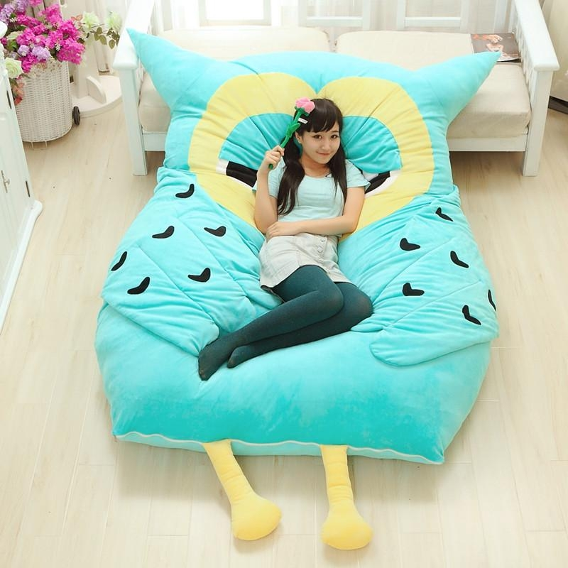 Online Buy Wholesale Totoro Bed Sleeping Bag Sofa From China With Sleeping Bag Sofas (Image 11 of 20)
