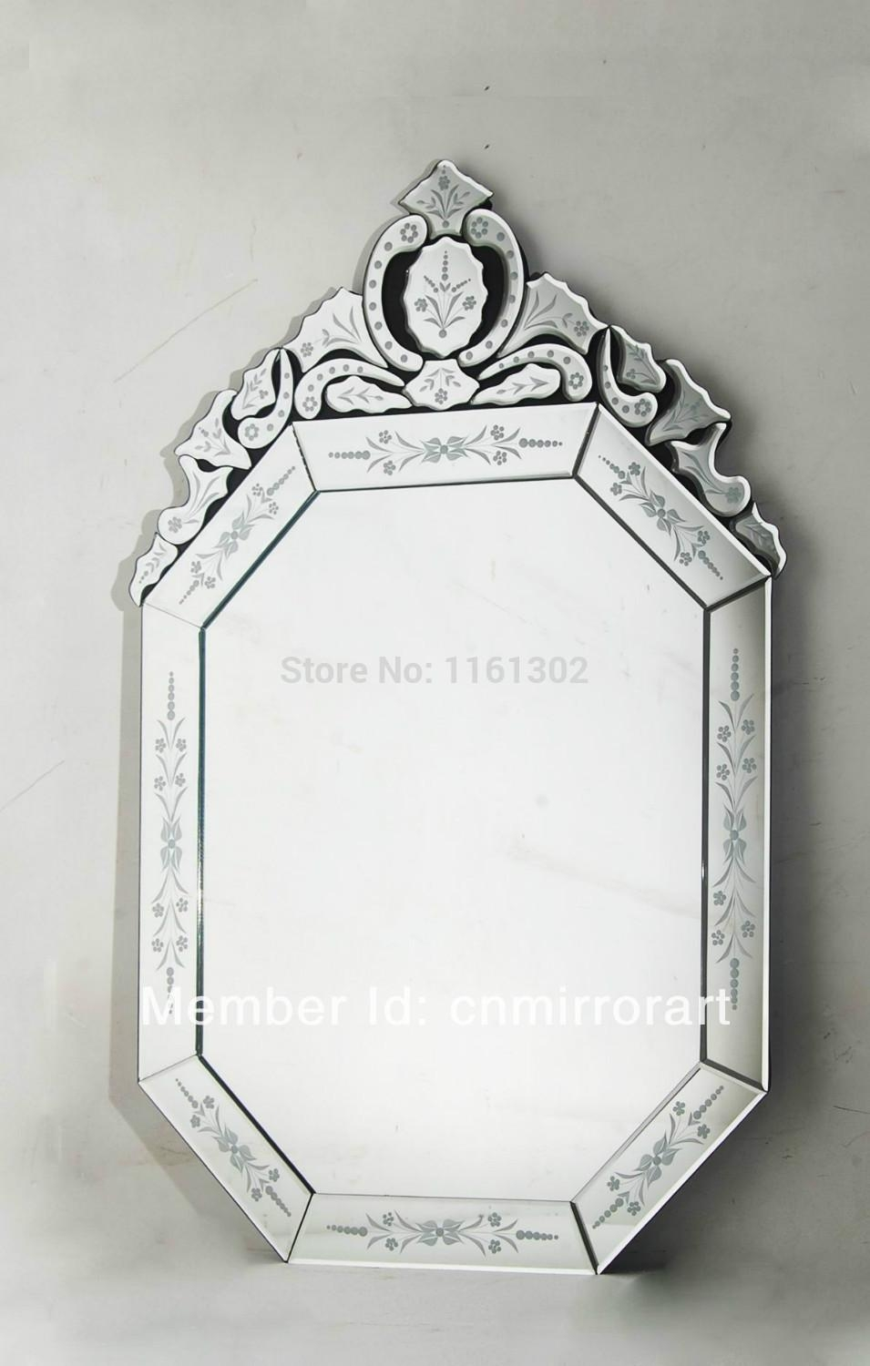 Online Buy Wholesale Venetian Mirrors From China Venetian Mirrors With Regard To Black Venetian Mirror (View 12 of 20)