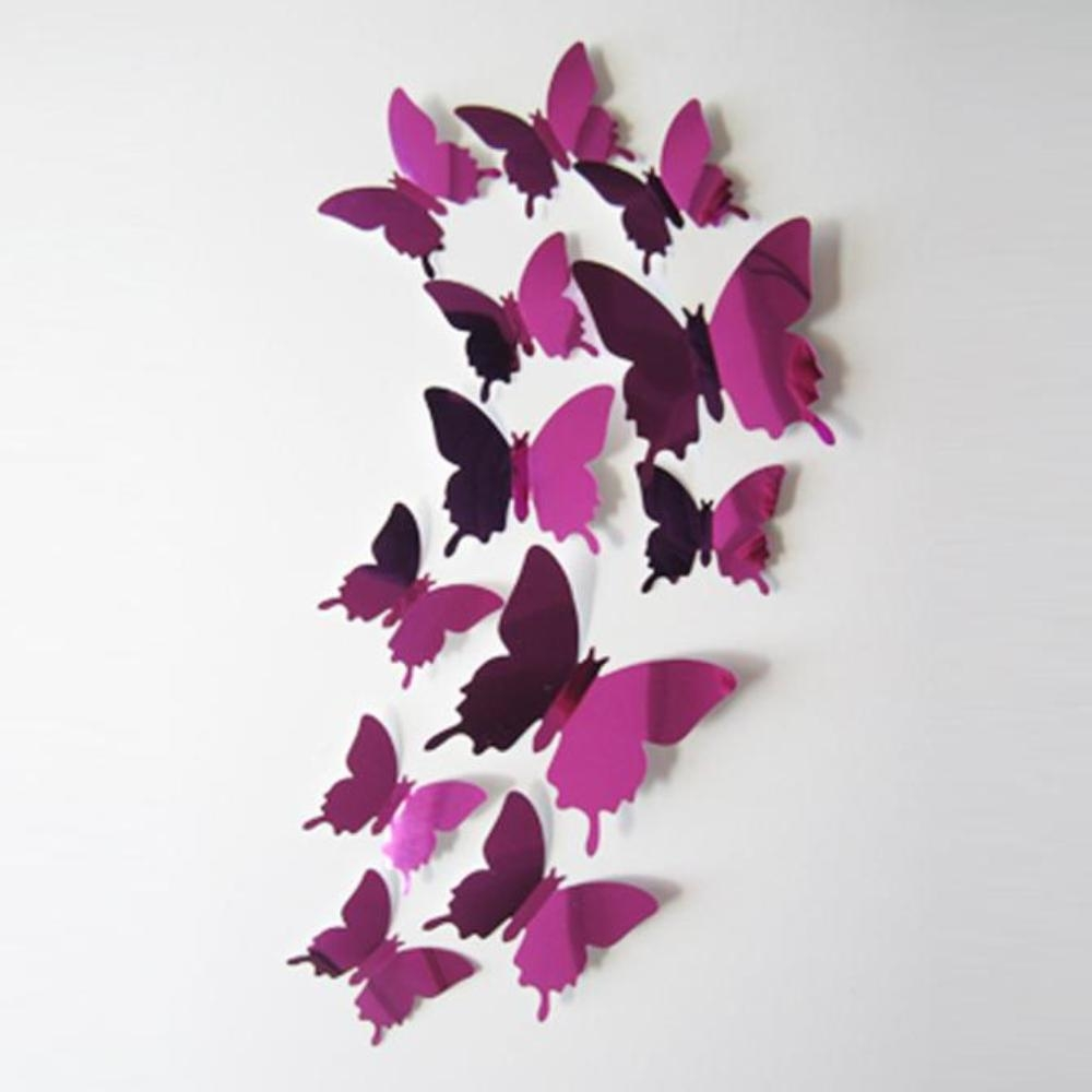 Online Get Cheap Butterfly Wall Mirror  Aliexpress | Alibaba Group With Regard To Butterfly Wall Mirrors (Image 10 of 20)