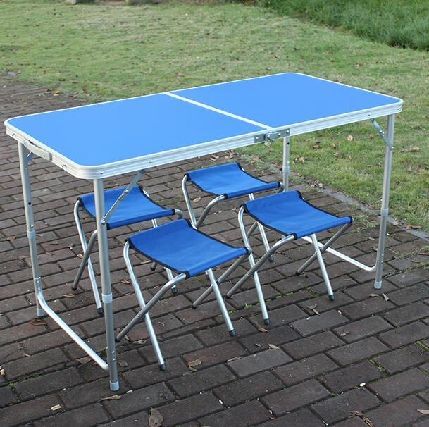 Online Get Cheap Folding Dining Table Chairs  Aliexpress Throughout Cheap Folding Dining Tables (Image 20 of 20)