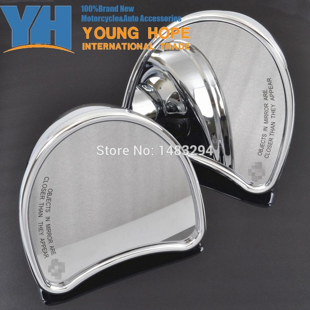 Online Get Cheap Harley Chrome Mirrors Aliexpress | Alibaba Group Pertaining To Chrome Mirrors (View 17 of 20)