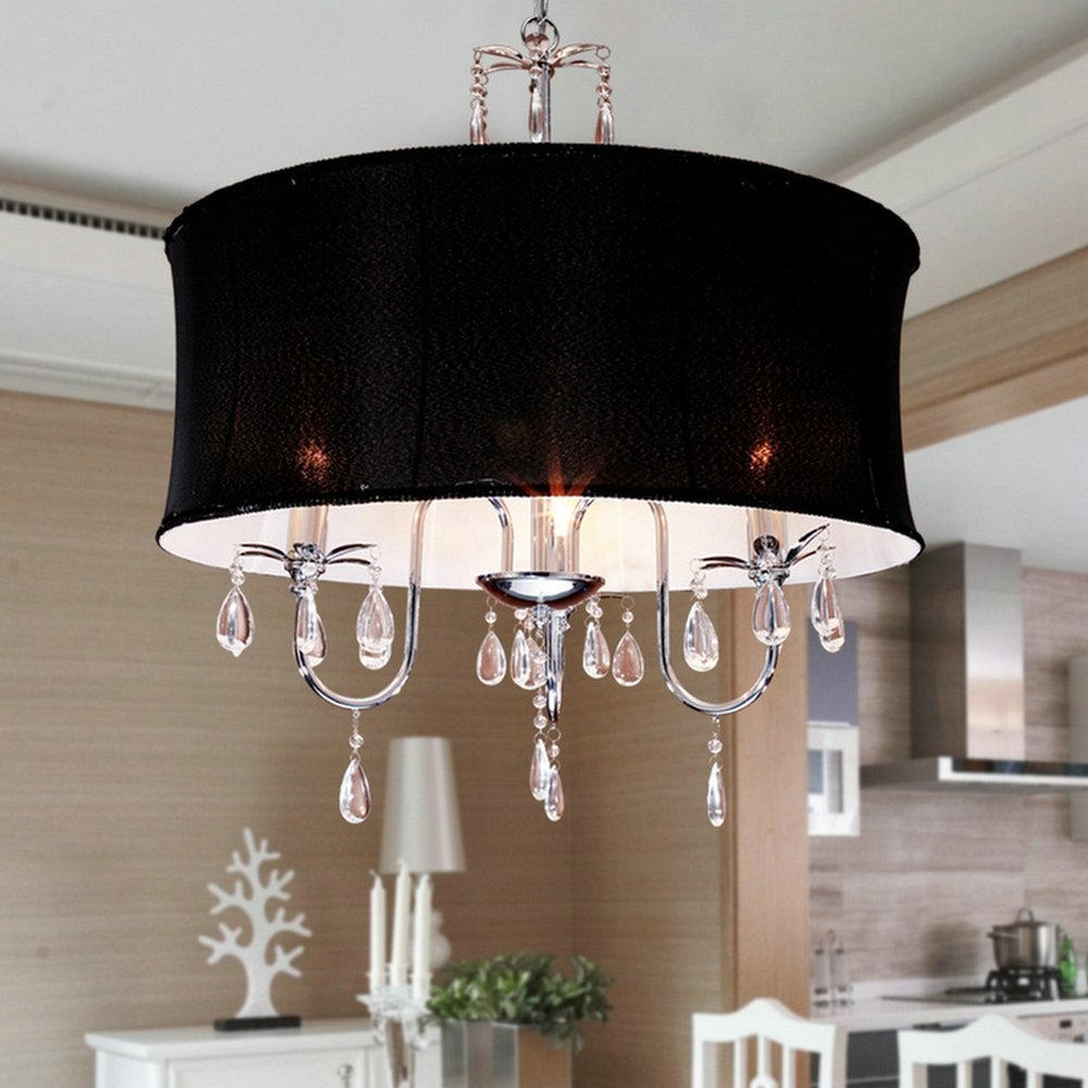 Online Get Cheap Lamp Shades Chandeliers Aliexpress Alibaba Pertaining To Lampshade Chandeliers (Image 18 of 25)