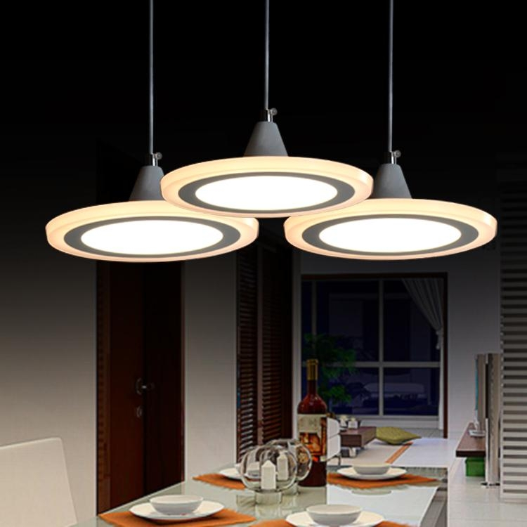 Online Get Cheap Led Light Dining Table Aliexpress | Alibaba Intended For Led Dining Tables Lights (View 10 of 20)
