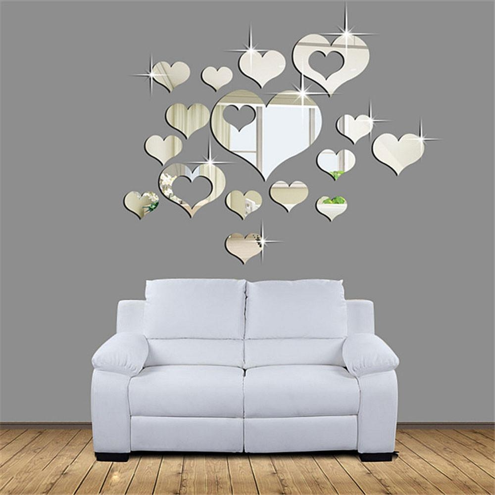 Online Get Cheap Mirror Heart  Aliexpress | Alibaba Group In Heart Shaped Mirror For Wall (Image 12 of 20)