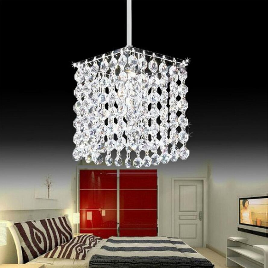 Online Get Cheap Modern Crystal Chandelier Aliexpress With Lampshade Chandeliers (Image 19 of 25)