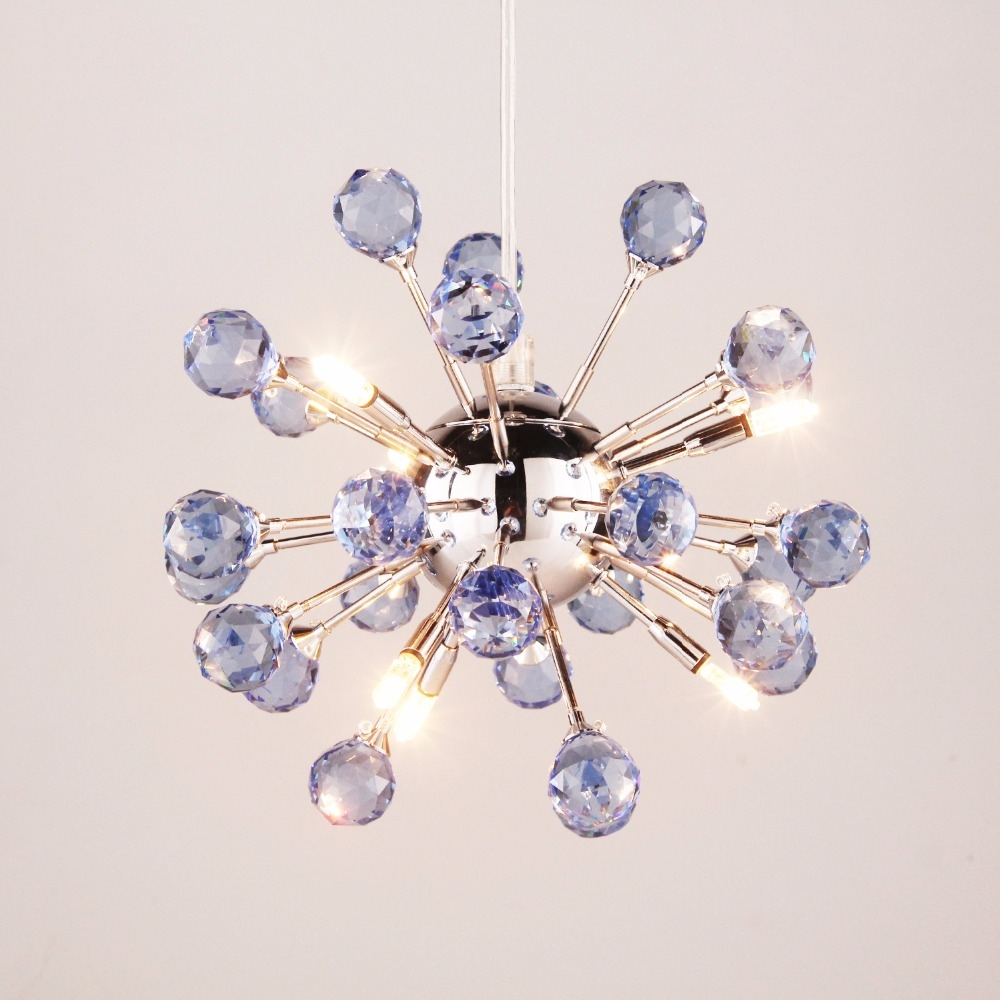 Online Get Cheap Purple Crystal Chandelier Aliexpress Throughout Purple Crystal Chandelier Lighting (Image 19 of 25)