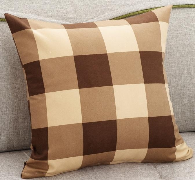 Online Shop Hot Sale Solid Color Sofa Cushion Covers 22 Styles With Sofa Cushion Covers (Image 12 of 20)