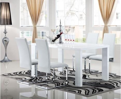 Opus Extending Dining Table – Keens Furniture Regarding Extending White Gloss Dining Tables (View 7 of 20)