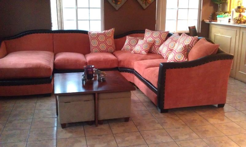 Orange Sectional Sofa | Roselawnlutheran In Orange Sectional Sofas (View 18 of 20)