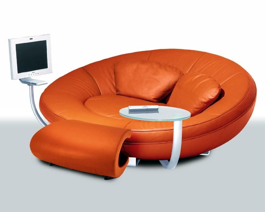 Orange Sofas – Home Design Ideas And Pictures Inside Orange Modern Sofas (View 7 of 20)