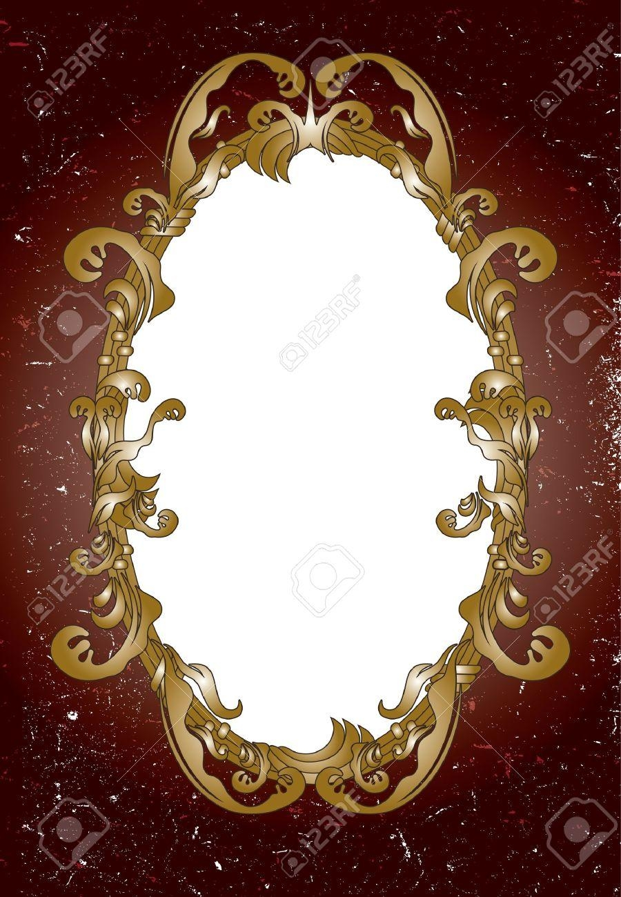Ornamental Mirror Frame Royalty Free Cliparts, Vectors, And Stock With Ornamental Mirror (Image 15 of 20)