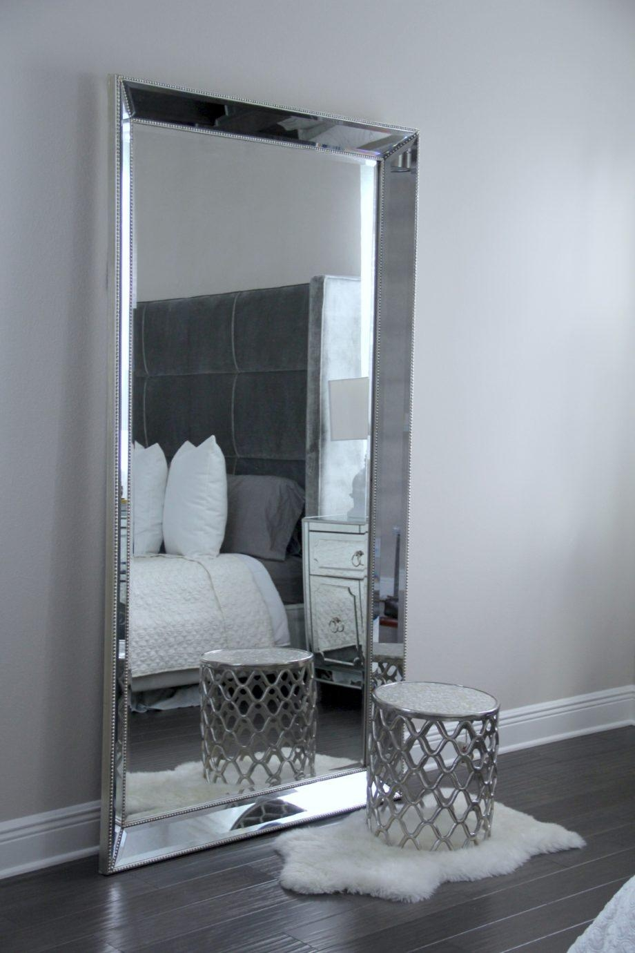 Ornate Floor Mirror Bedroom Decor White With Mirrors For With Ornate Floor Mirrors (View 19 of 20)