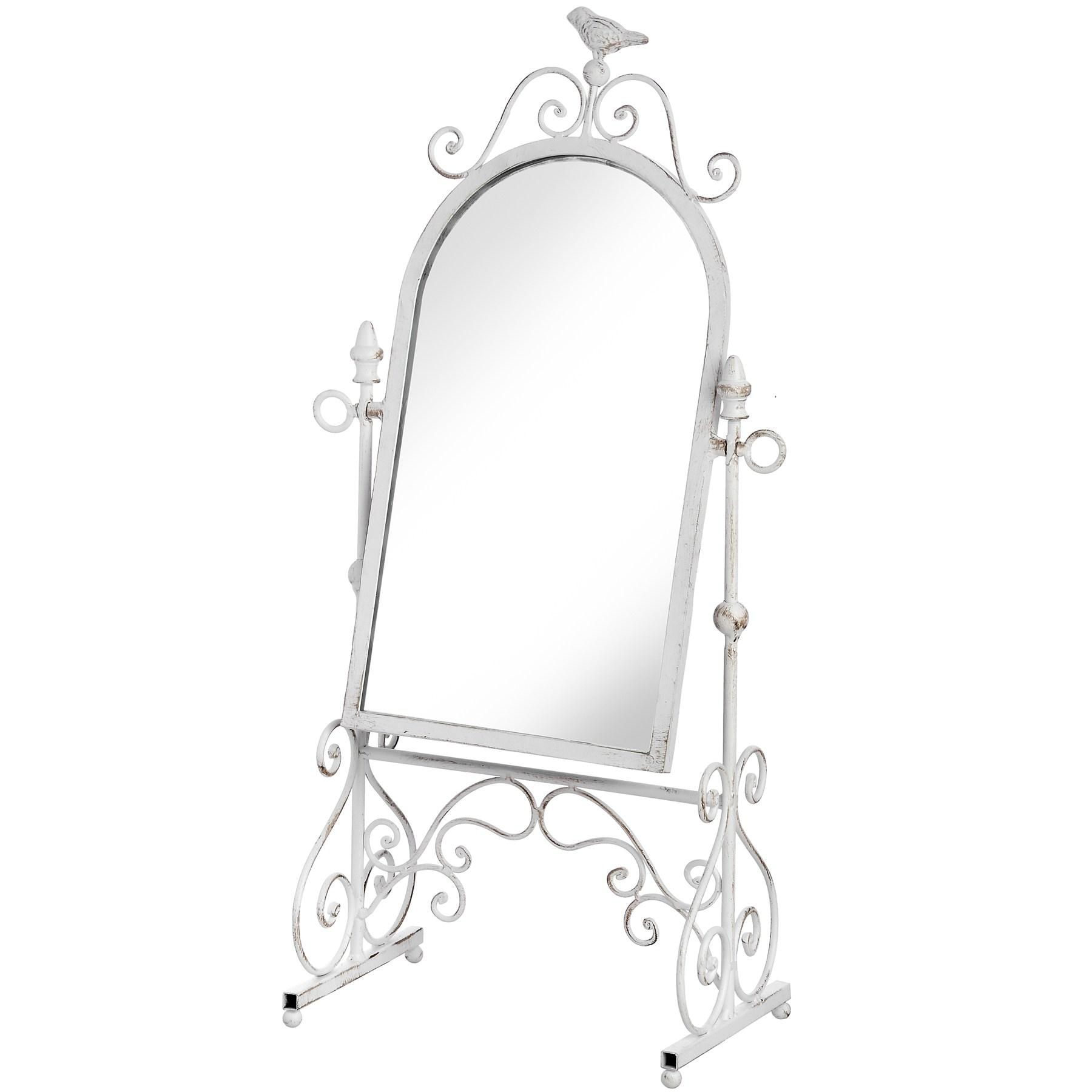 Ornate Floor Standing Mirror From Hill Interiors Inside Standing Table Mirror (Image 13 of 20)