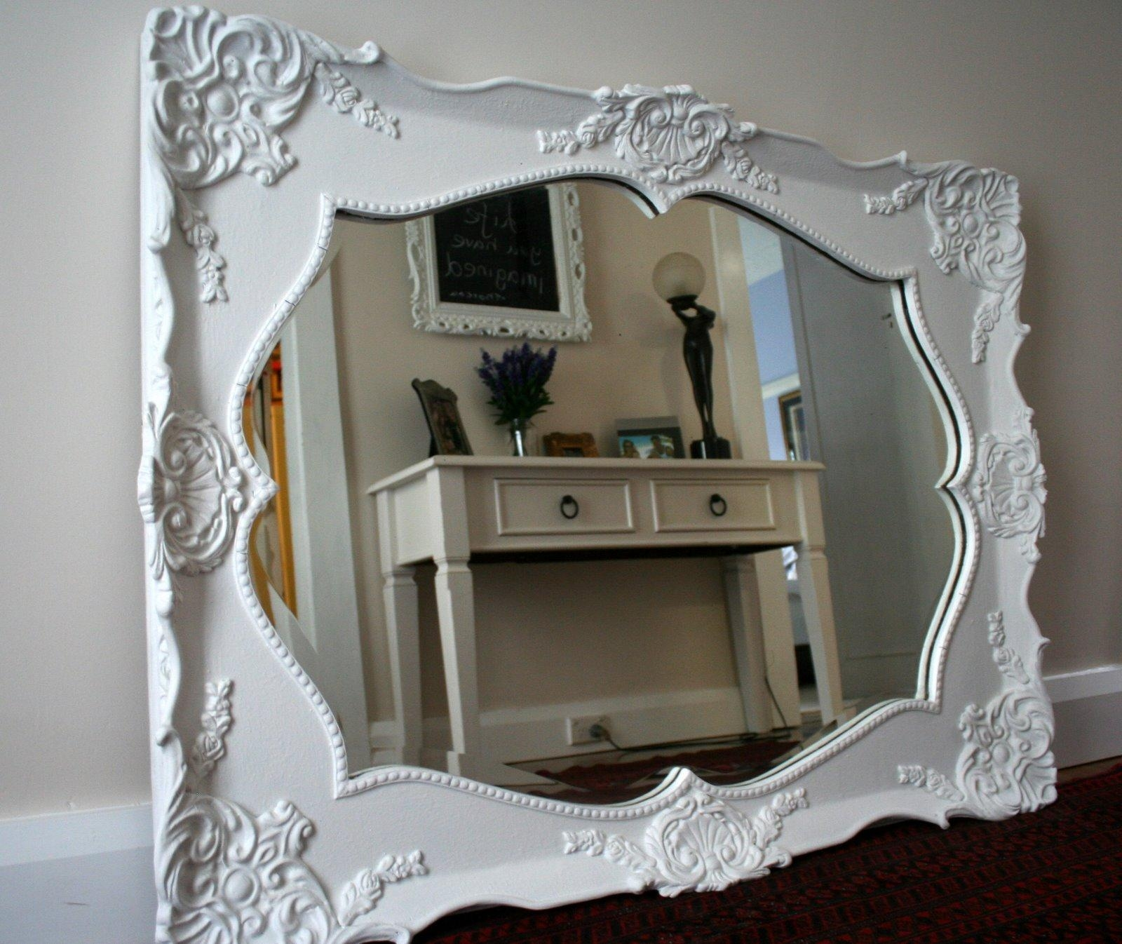 Ornate Mirrors For Sale 35 Cute Interior And Mirror A Large White For Ornate White Mirrors (Photo 10 of 20)