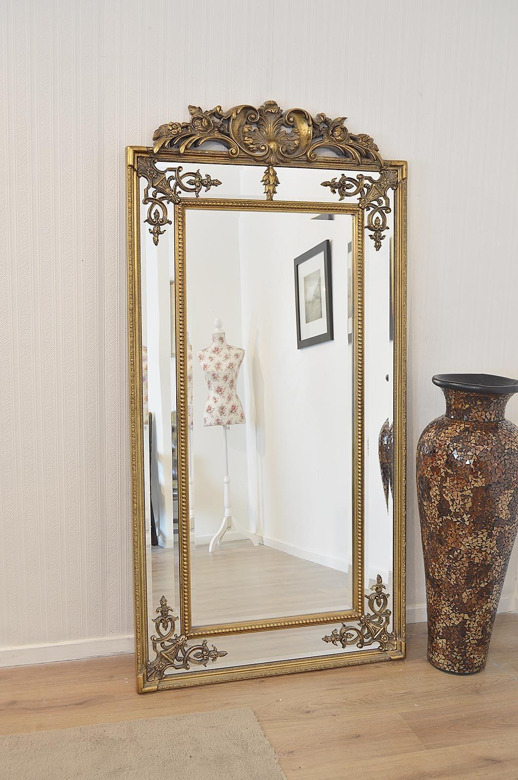 Ornate Mirrors For Sale 42 Cool Ideas For Vintage Gold Painted Throughout Vintage Large Mirrors (Image 17 of 20)