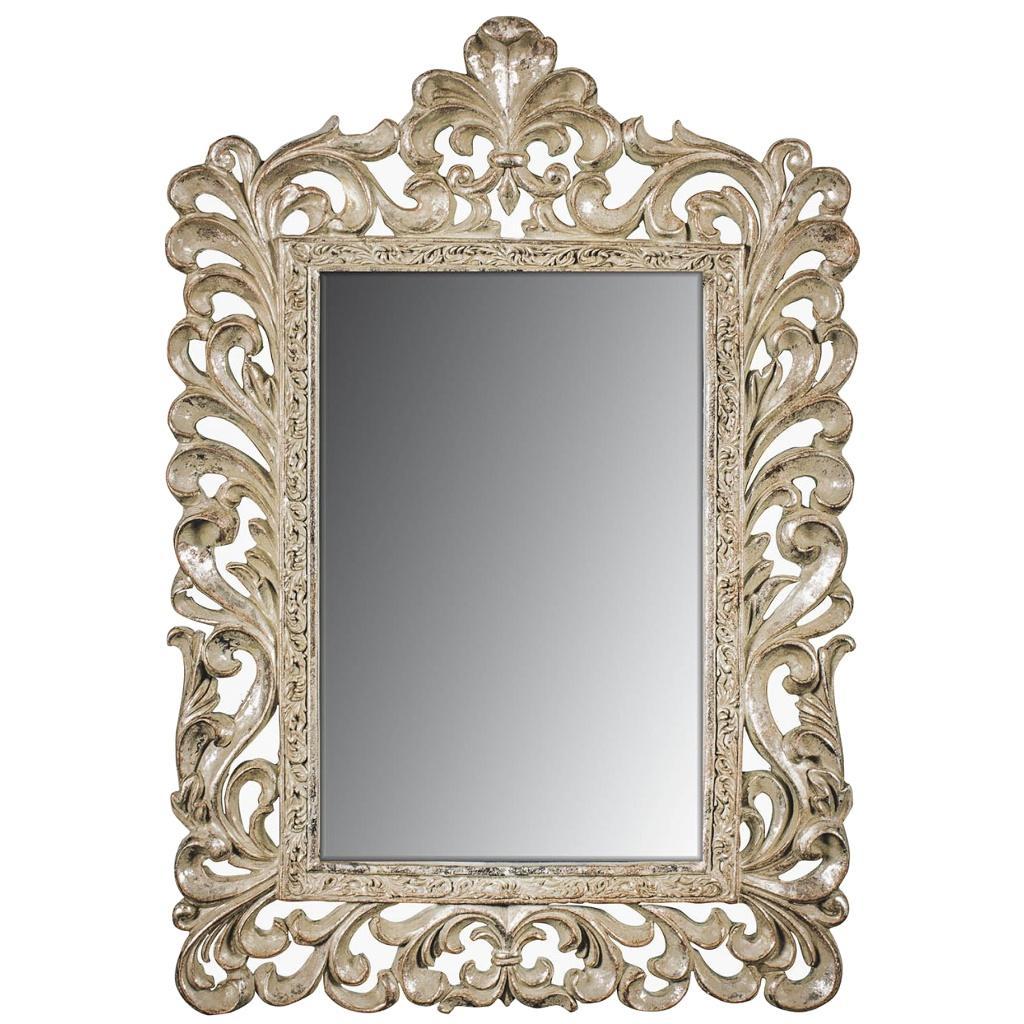 Ornate Wall Mirror | Happy Home Interiors In Cream Ornate Mirror (View 19 of 20)