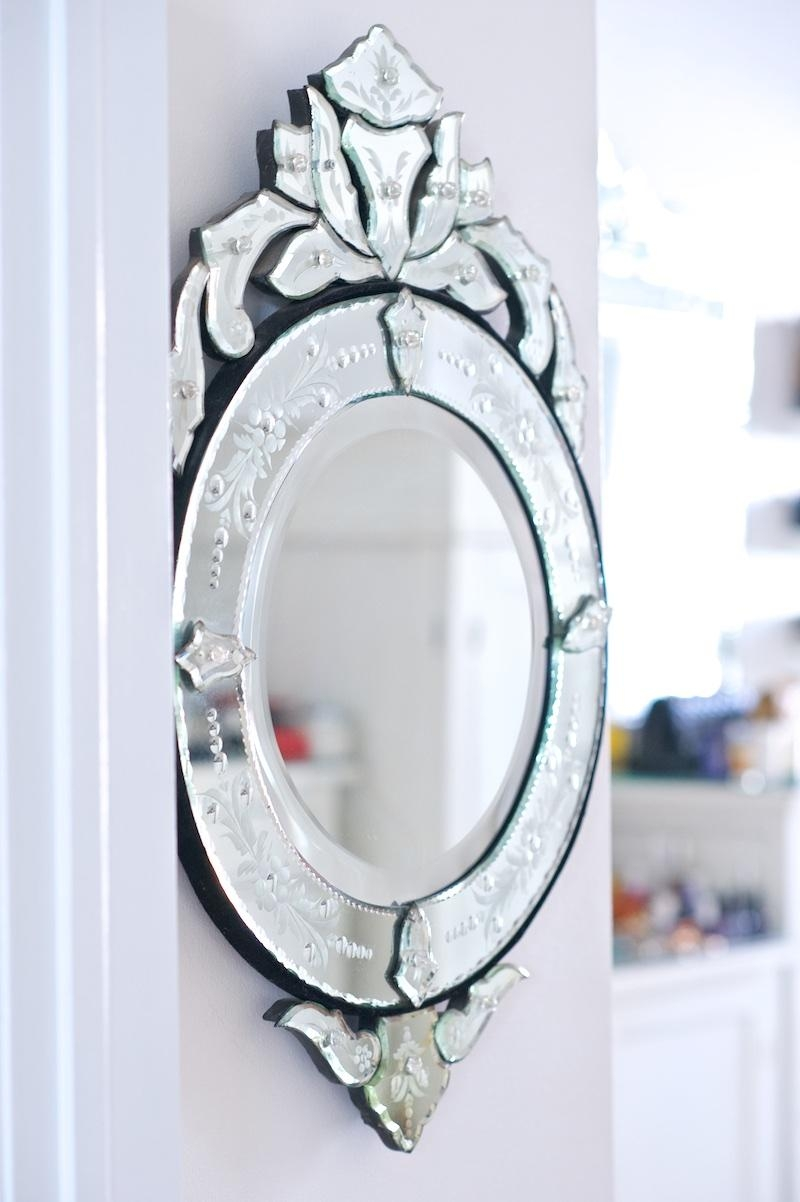 Our Small Living Space – Where Did U Get That With Regard To Small Venetian Mirror (Image 13 of 20)