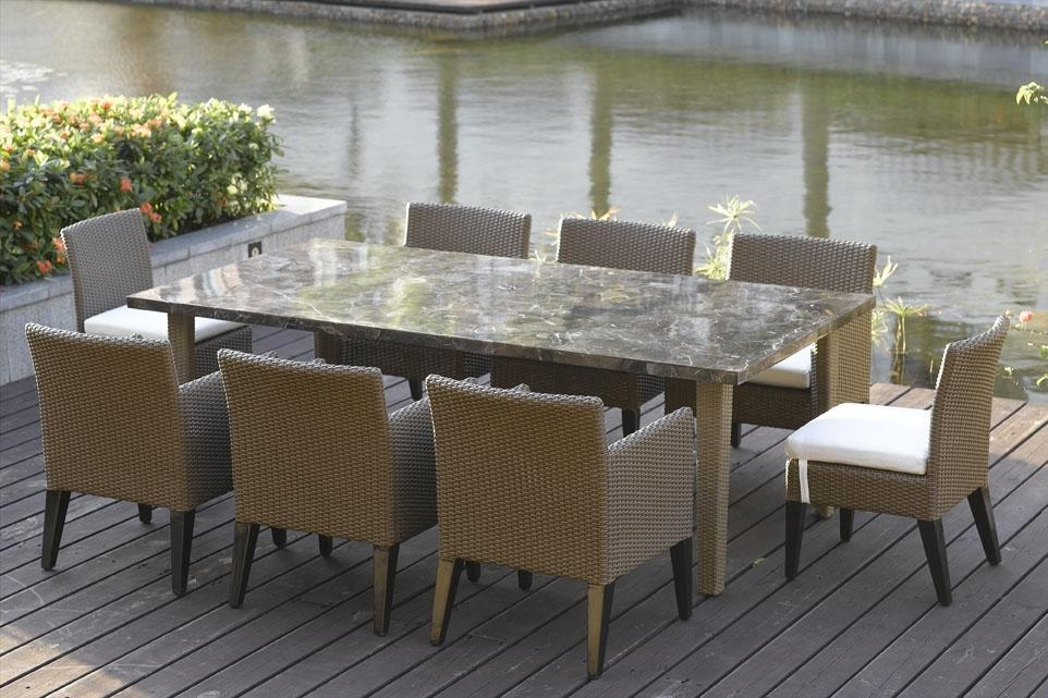 Outdoor Dining Table Sets | Kobe Table Throughout Garden Dining Tables (Image 18 of 20)