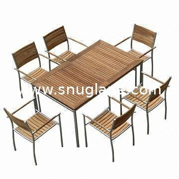Outdoor Dining Table Sets, Rectangle, Extendable With #304 Pertaining To Outdoor Extendable Dining Tables (Image 16 of 20)