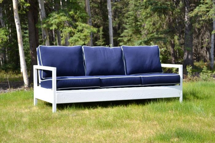 Outdoor Furniture Great Ana White Simple Sofa Diy Projects With For Ana White Outdoor Sofas (Image 16 of 20)