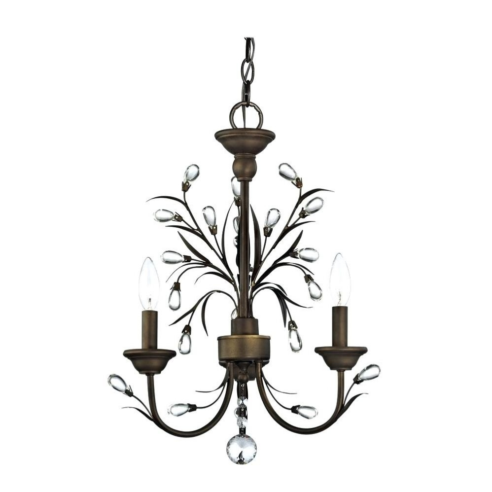 Outdoor Hanging Chandelier Mini Chrome Crystal Chandelier For For Bathroom Safe Chandeliers (Image 18 of 24)