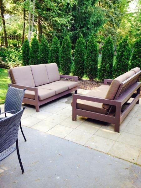 Outdoor Patio Couches | Do It Yourself Home Projects From Ana Throughout Ana White Outdoor Sofas (Image 17 of 20)