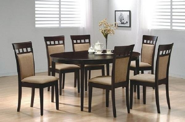 Outstanding Chairs Dining Table Cool Design Ideas 6 Chair With 6 Chair Dining Table Sets (Image 16 of 20)