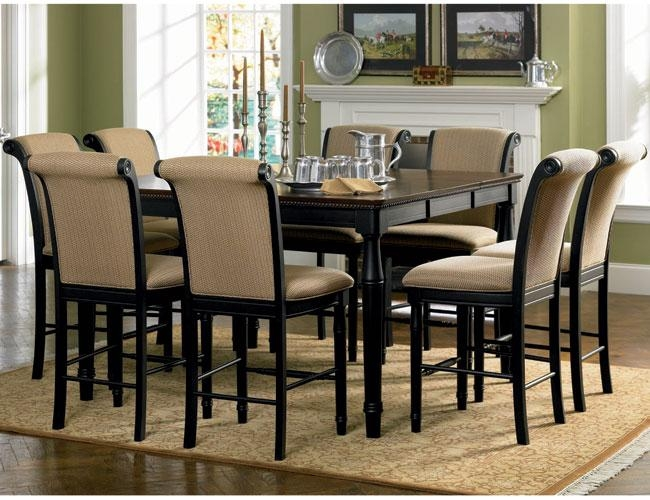 Outstanding Dining Room Set 8 Chairs Images – 3D House Designs Intended For 8 Seater Round Dining Table And Chairs (Image 14 of 20)