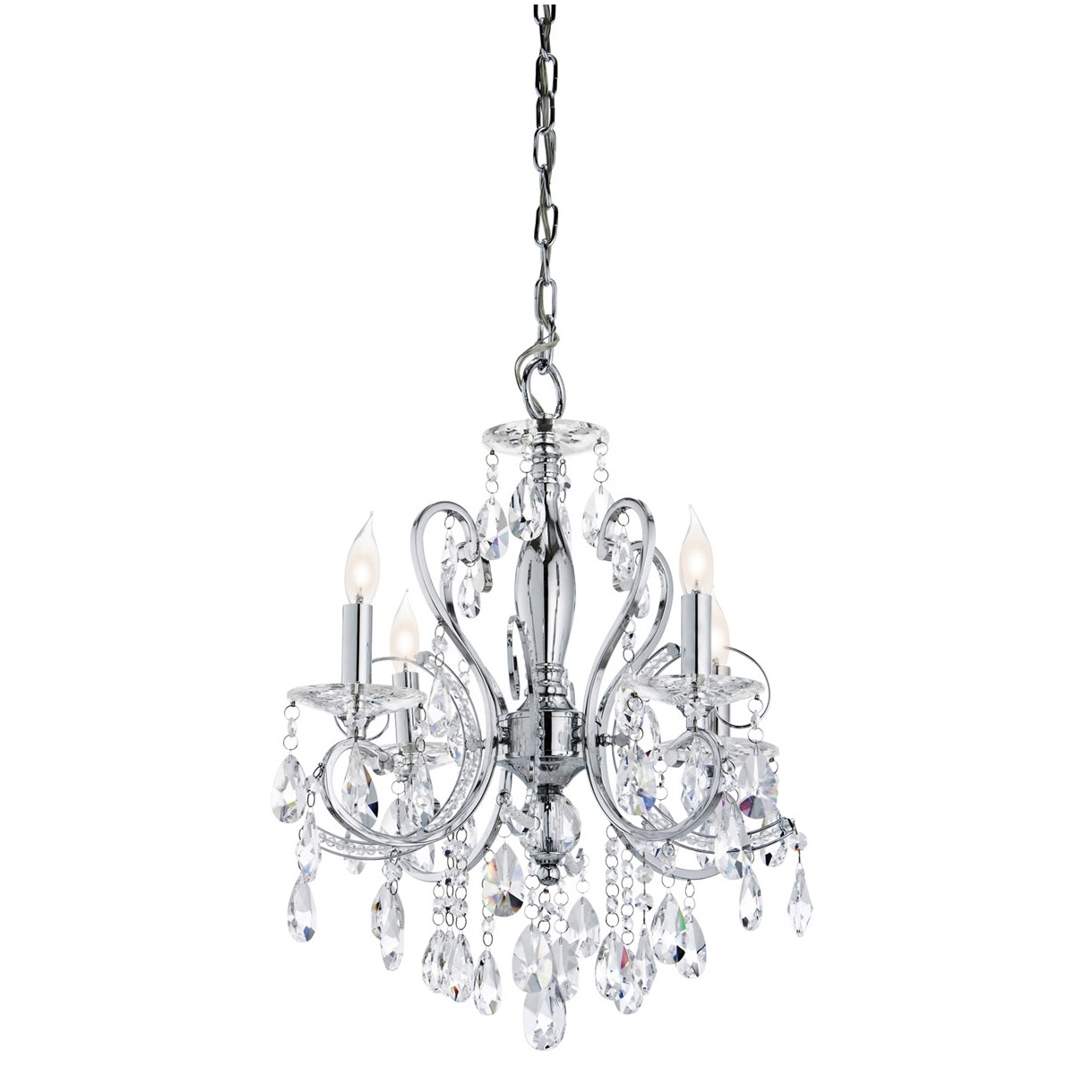 Outstanding Small Crystal Chandeliers For With Bedroom Between With Mini Crystal Chandeliers (View 10 of 25)