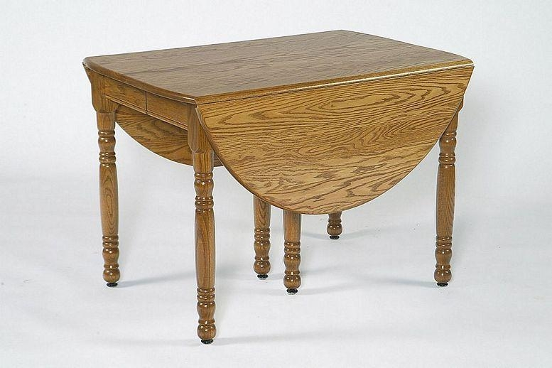 Oval Drop Leaf Folding Table In Oval Folding Dining Tables (Image 20 of 20)
