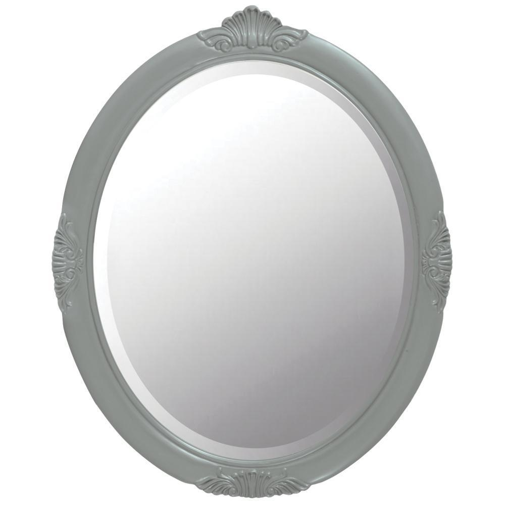 Oval – Home Decorators Collection – Mirrors – Wall Decor – The Throughout Antique White Oval Mirror (Image 16 of 20)