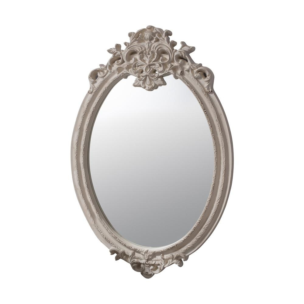 Oval Mirror: Valmont Oval Cream | Select Mirror Within Oval Cream Mirror (Image 13 of 20)