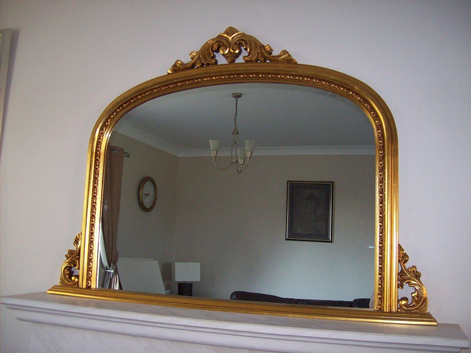 Overmantle Mirror (Image 17 of 20)