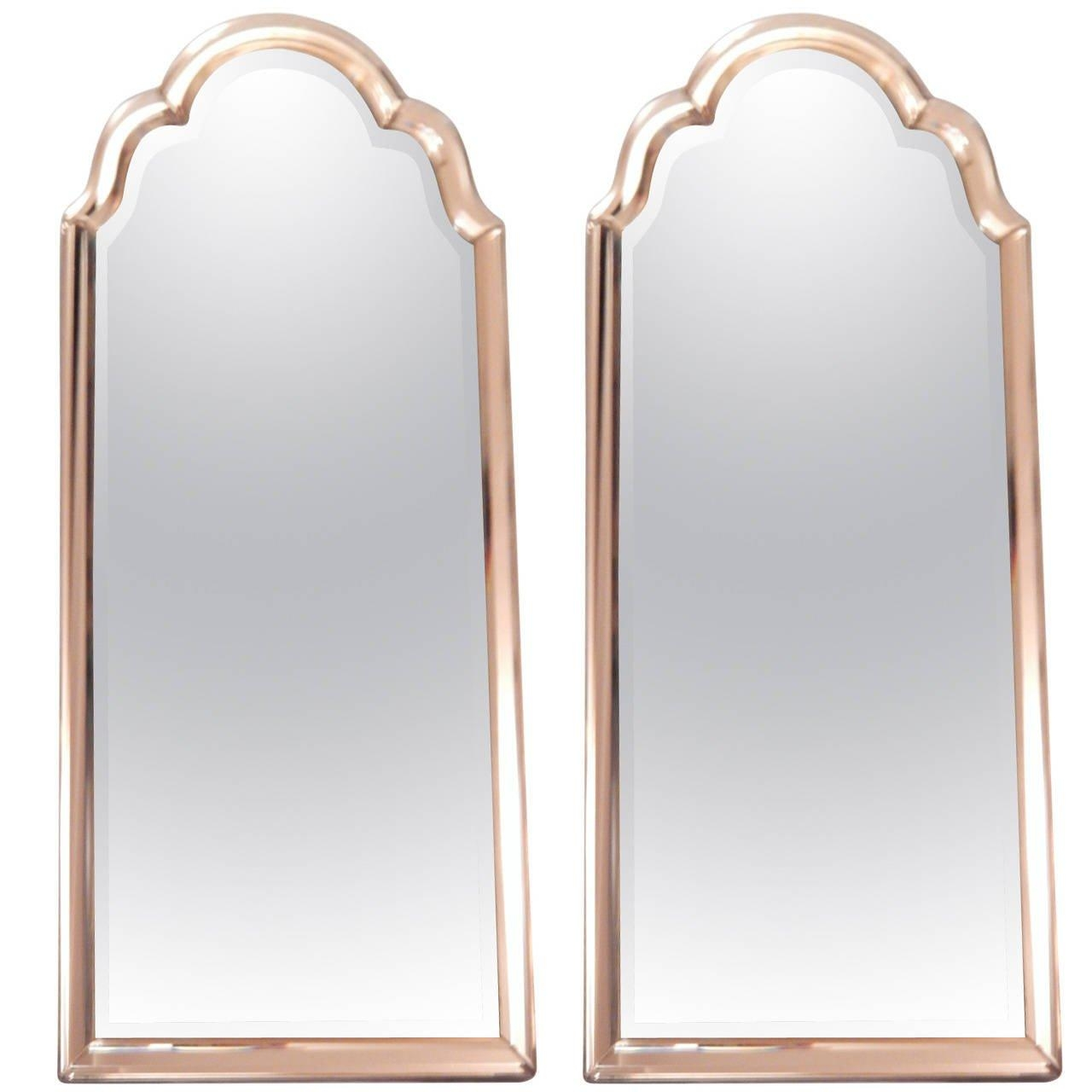 Pair Of Venetian Style Mirror Framed Mirrors At 1Stdibs With Curved Top Mirror (Image 18 of 20)
