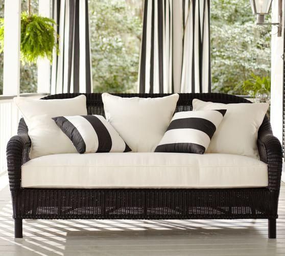 Featured Image of Black Wicker Sofas