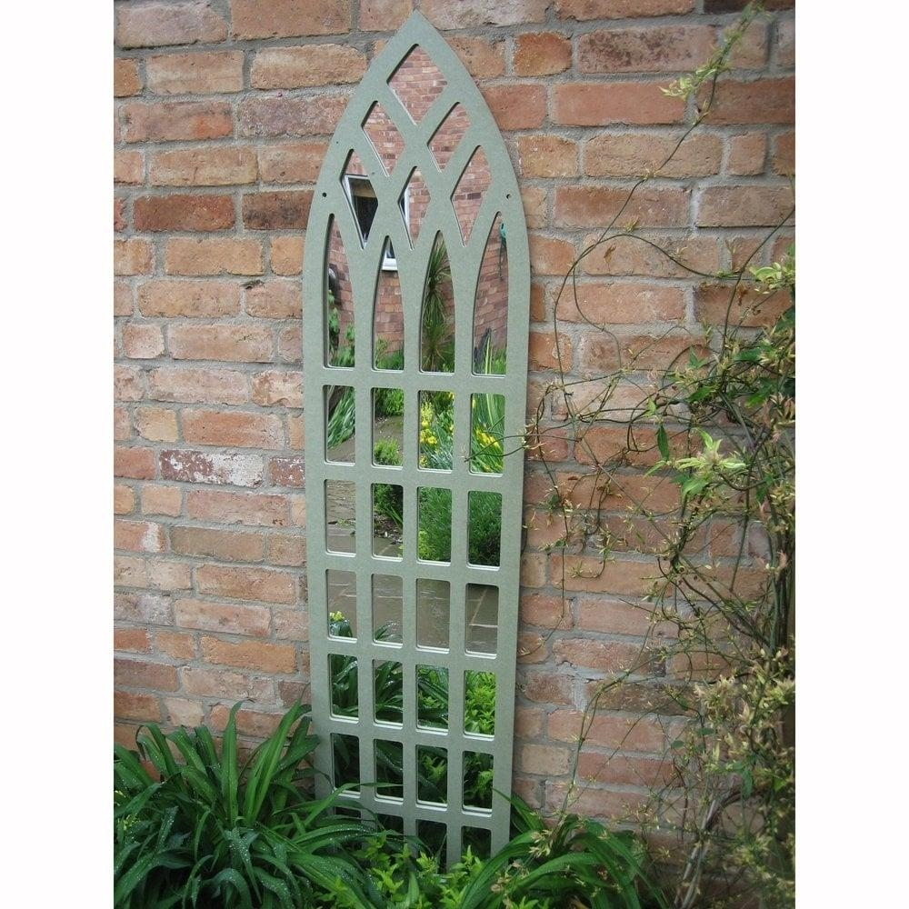 Parallax Illusions Gothic Tall Trellis Garden Mirror | Garden Street Throughout Gothic Garden Mirrors (Image 19 of 20)