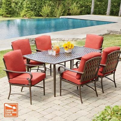 Patio Dining Furniture Regarding Outdoor Dining Table And Chairs Sets (Image 12 of 20)