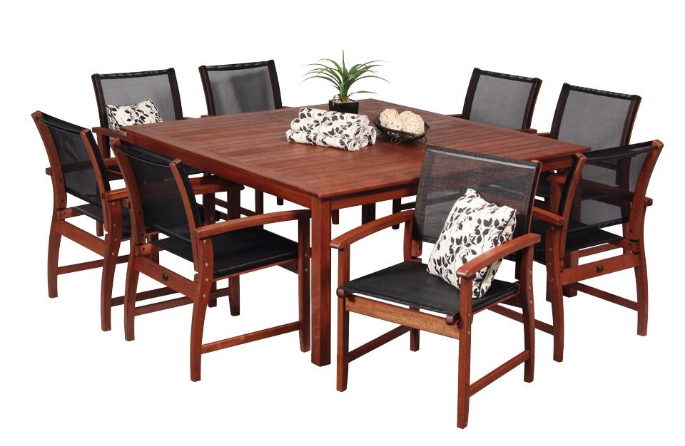 Patio Dining Tables For 8 | Target Patio Decor Within 8 Seat Outdoor Dining Tables (Image 16 of 20)