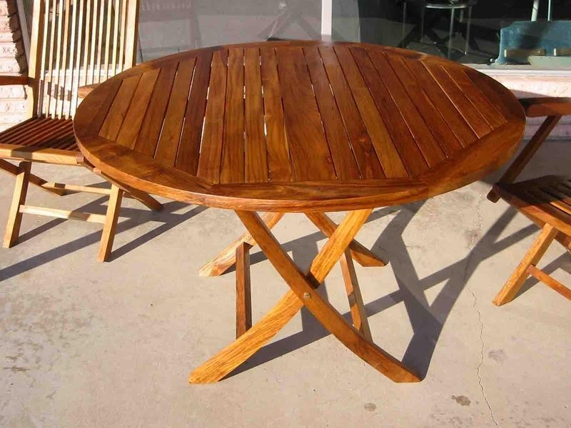 Patio Furniture Folding Table And Chairs : Folding Patio Table For For Folding Outdoor Dining Tables (Image 19 of 20)
