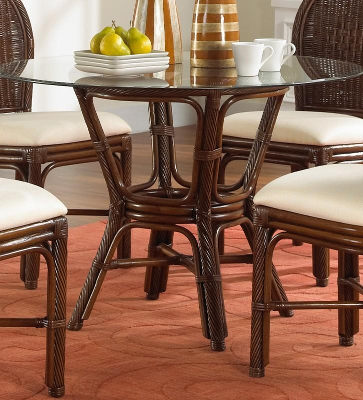 Pelican Reef | Rattan & Wicker Furniture Distributor Key Largo For Wicker And Glass Dining Tables (Image 16 of 20)