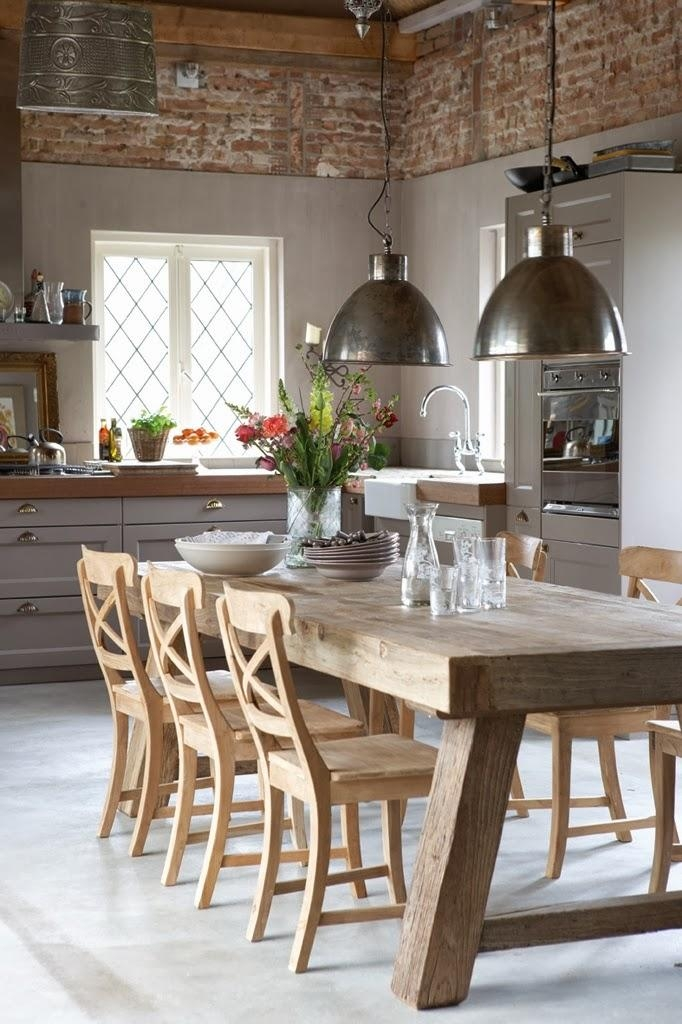 Pendant Lights Over The Dining Table | Norse White Design Blog Pertaining To Over Dining Tables Lights (Image 16 of 20)