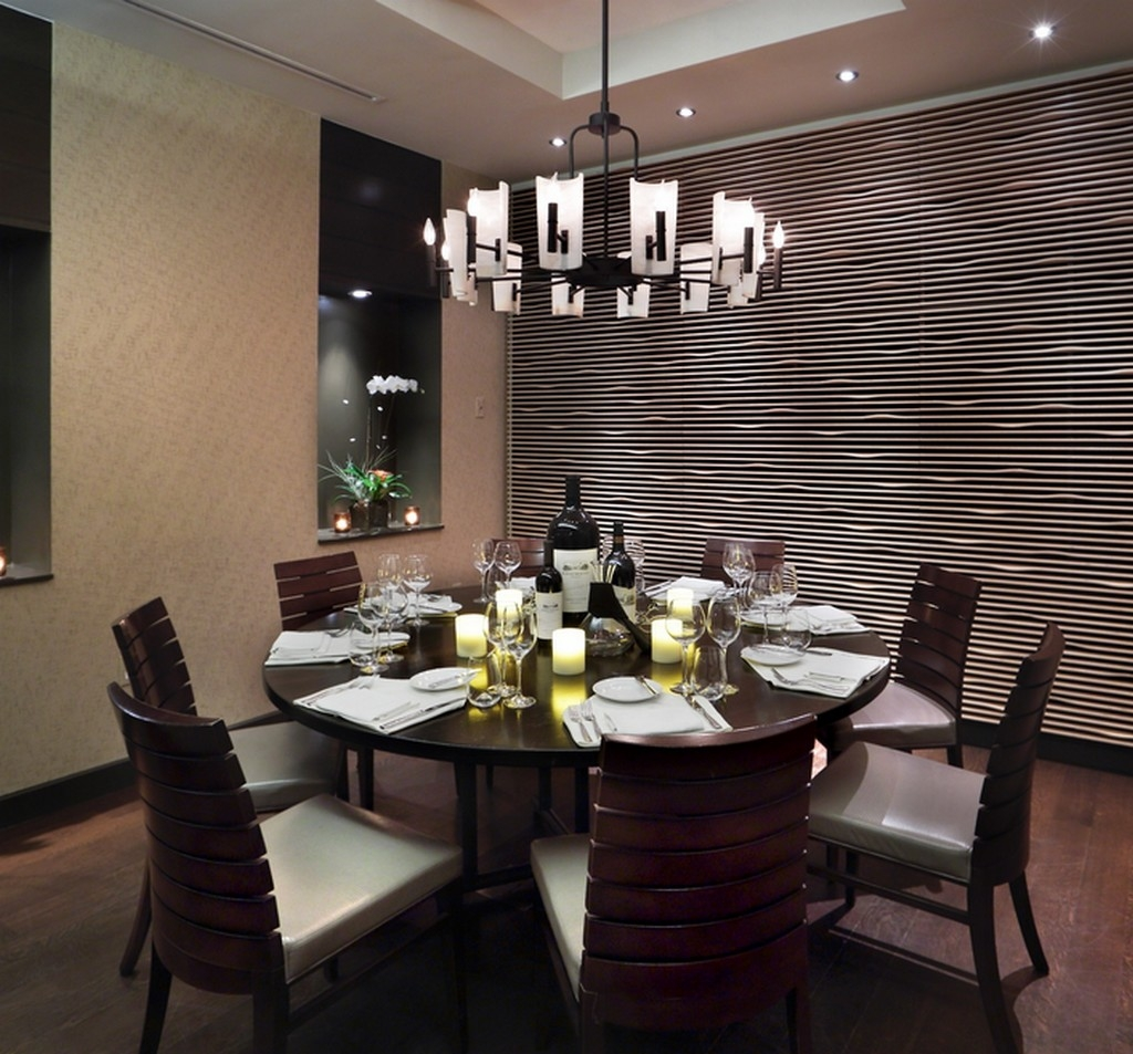 dining room lighting low ceilings | 25 Inspirations Modern Chandeliers for Low Ceilings ...